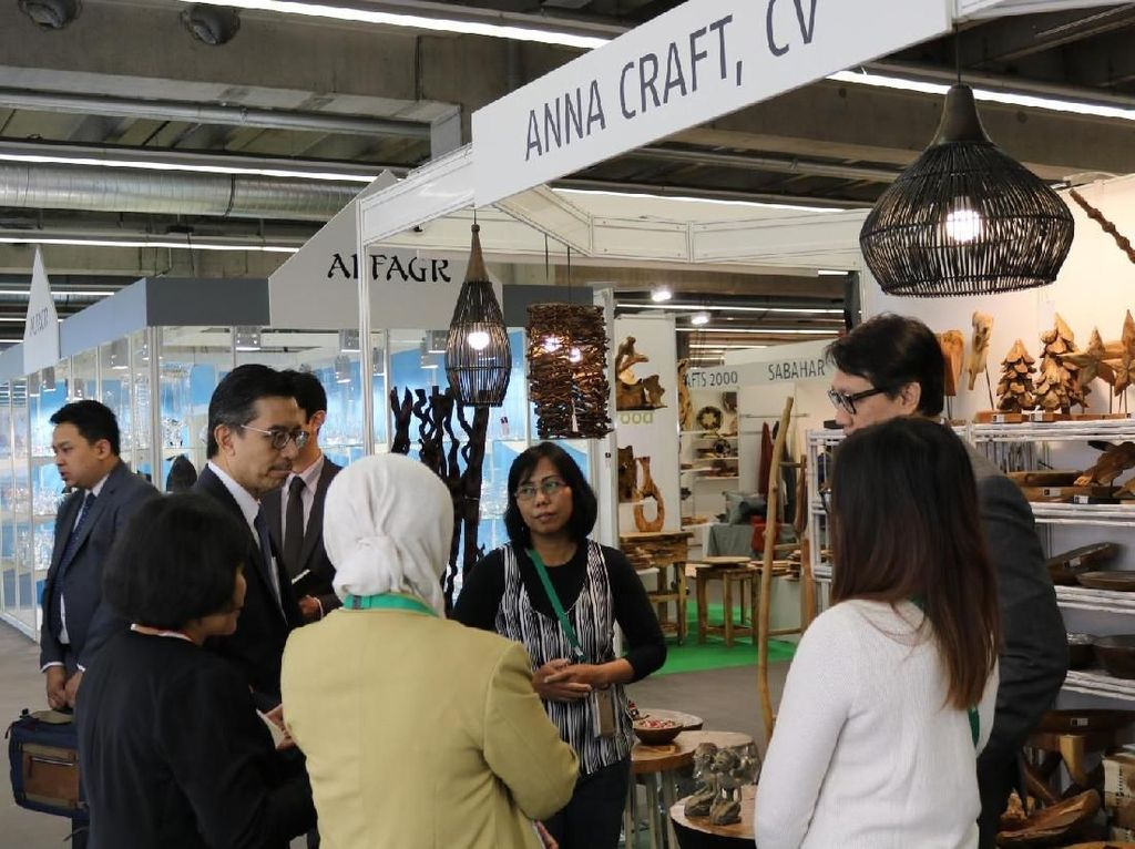 Produk Kerajinan Indonesia Tembus Pasar Global di Ambiente Frankfurt
