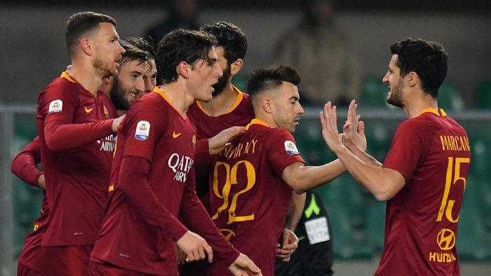 AS Roma akan menjamu Porto di leg pertama babak 16 besar Liga Champions, Rabu (13/2/2019) dini hari WIB (Foto: Alessandro Sabattini/Getty Images)