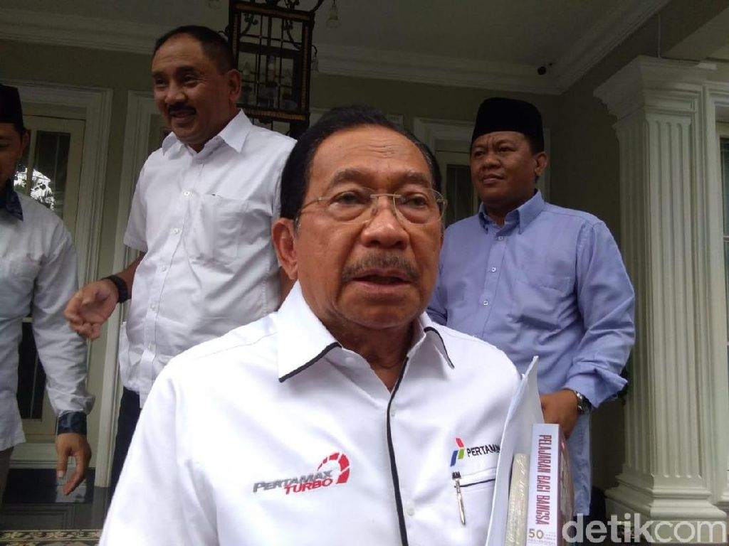 Temui Maruf Amin, Tanri Abeng Sodorkan Konsep Badan Usaha Milik Rakyat