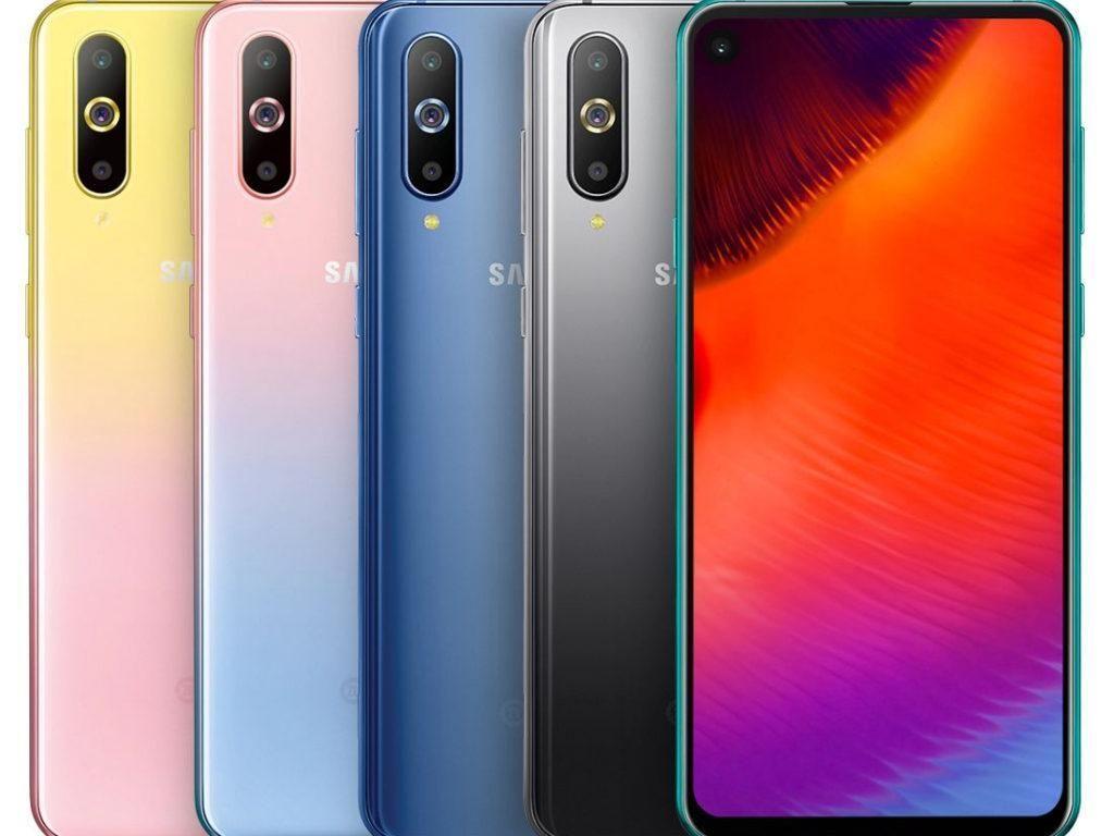 Dua Warna Baru Galaxy A8s Siap Menggoda