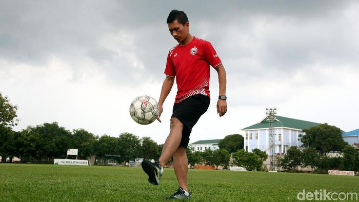 Ismed Sofyan mengaku terlambat kenal sepakbola. (Foto: Rengga Sancaya/detikcom)