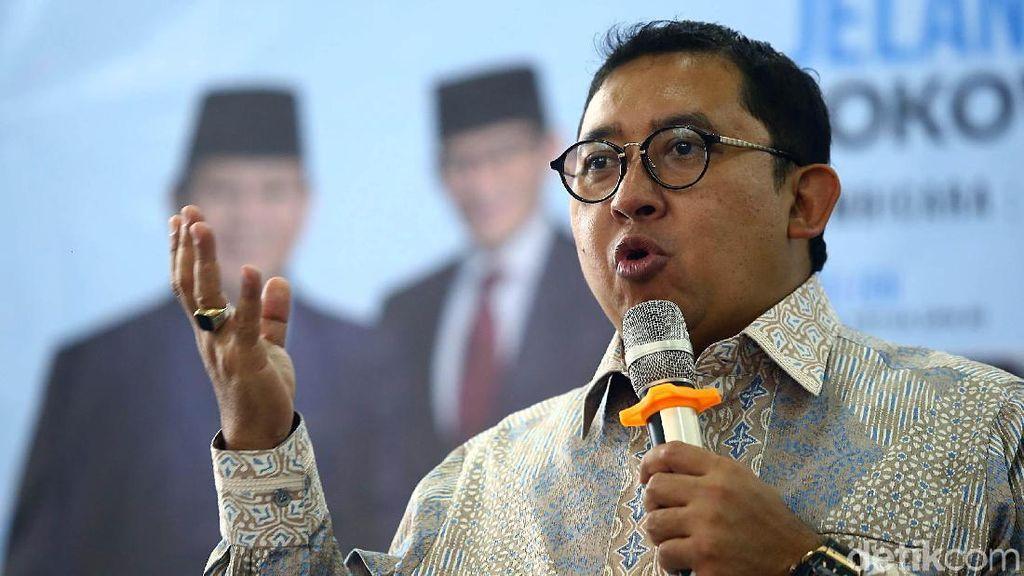 Lagi, Fadli Zon Kembali Sindir Jokowi