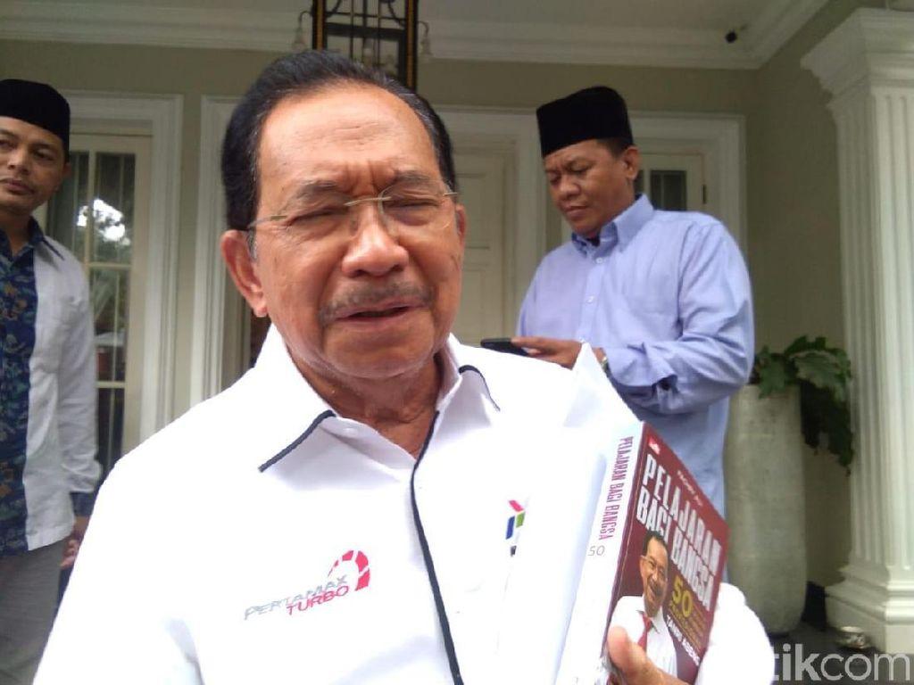 Menteri BUMN Soeharto Temui Maruf Bahas Badan Usaha Milik Rakyat