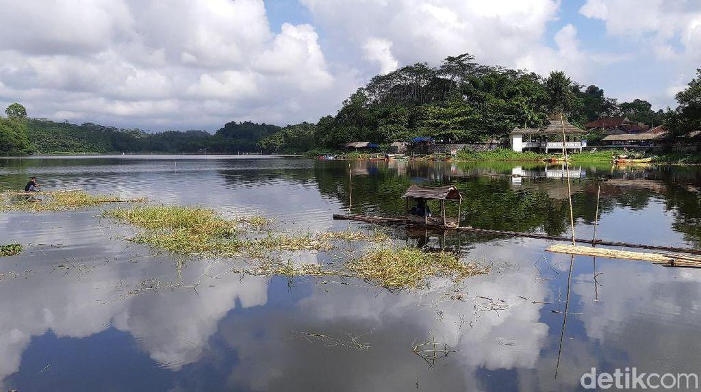 Foto Miris, Situ Gede Tasikmalaya yang Terbengkalai