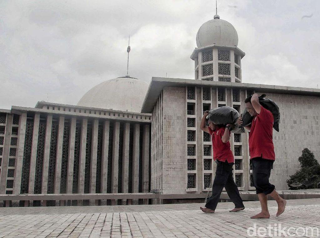 Harapan Jemaah Pasca Masjid Istiqlal Direnovasi