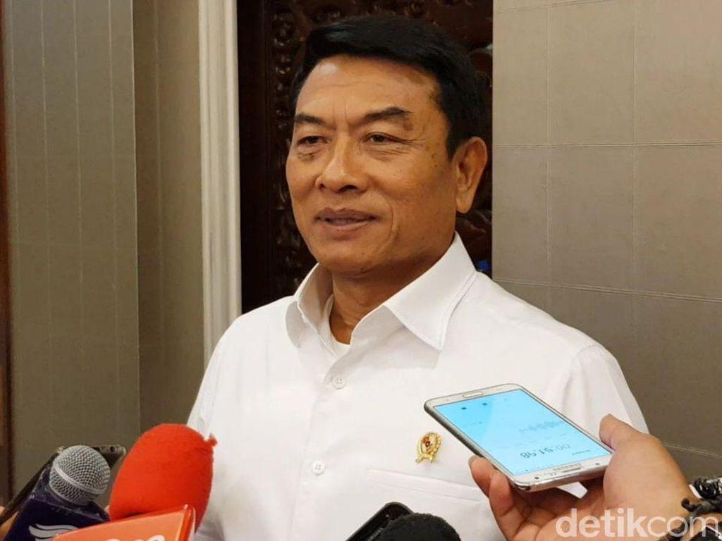 Iring-iringan Jokowi Diterobos Pendemo, Moeldoko: Salah Sasaran Itu