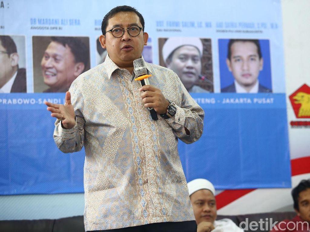 Tetap Kritik Jokowi, Fadli Zon Ngaku Tak Ditegur Prabowo