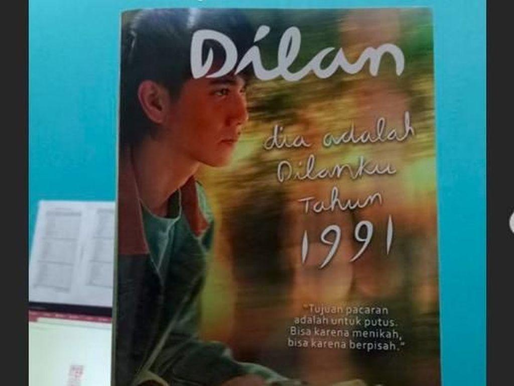 Jelang Tayang, Novel Dilan 1991 Cetak Ulang Bersampul Poster Film