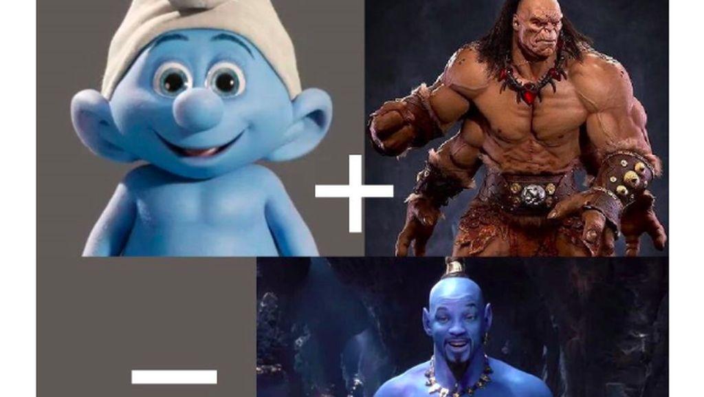 Jin Aladdin ala Will Smith Jadi Bulan-bulanan Meme