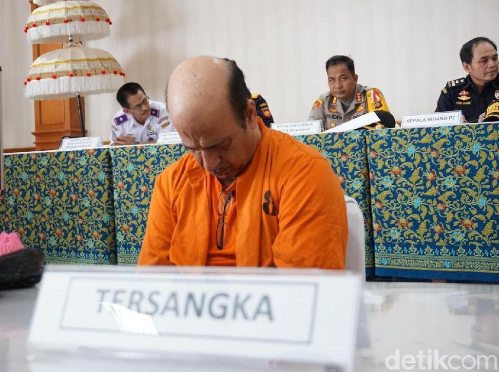 WN AS Ditangkap di Bali Terkait Penyelundupan Ganja