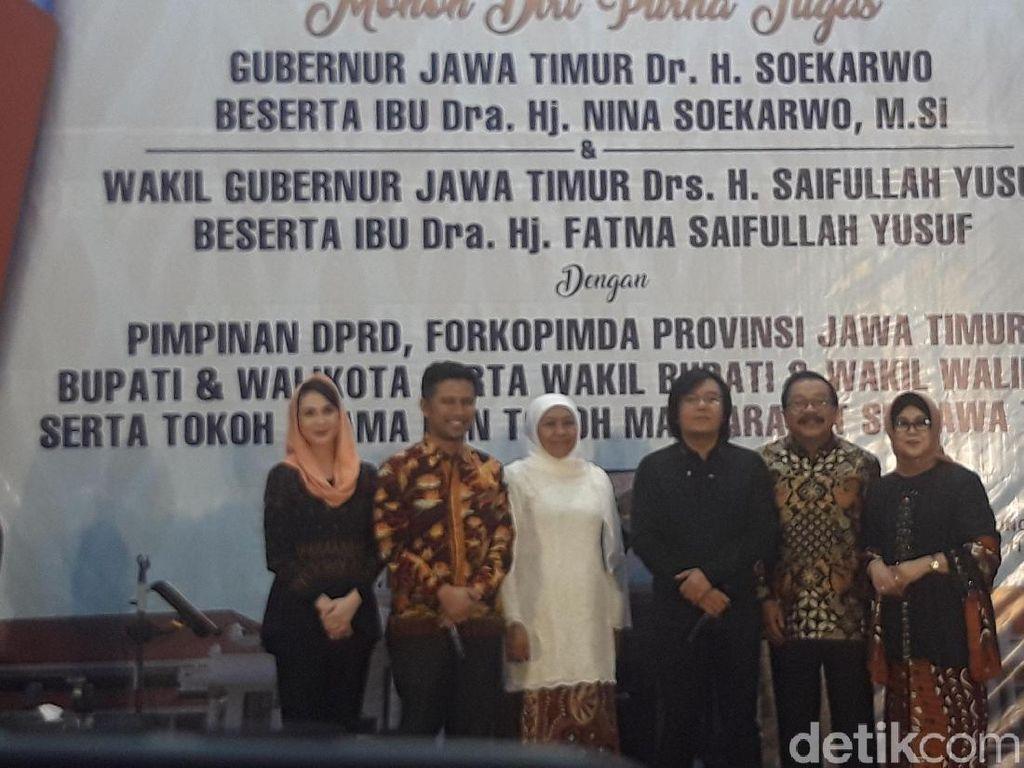 Pakdhe Karwo Pamitan, Khofifah Siap Lanjutkan Kesuksesan