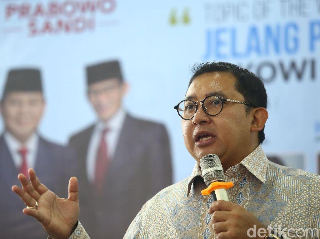 Fadli Nilai Elektabilitas Prabowo Meningkat Usai Debat Capres Kedua