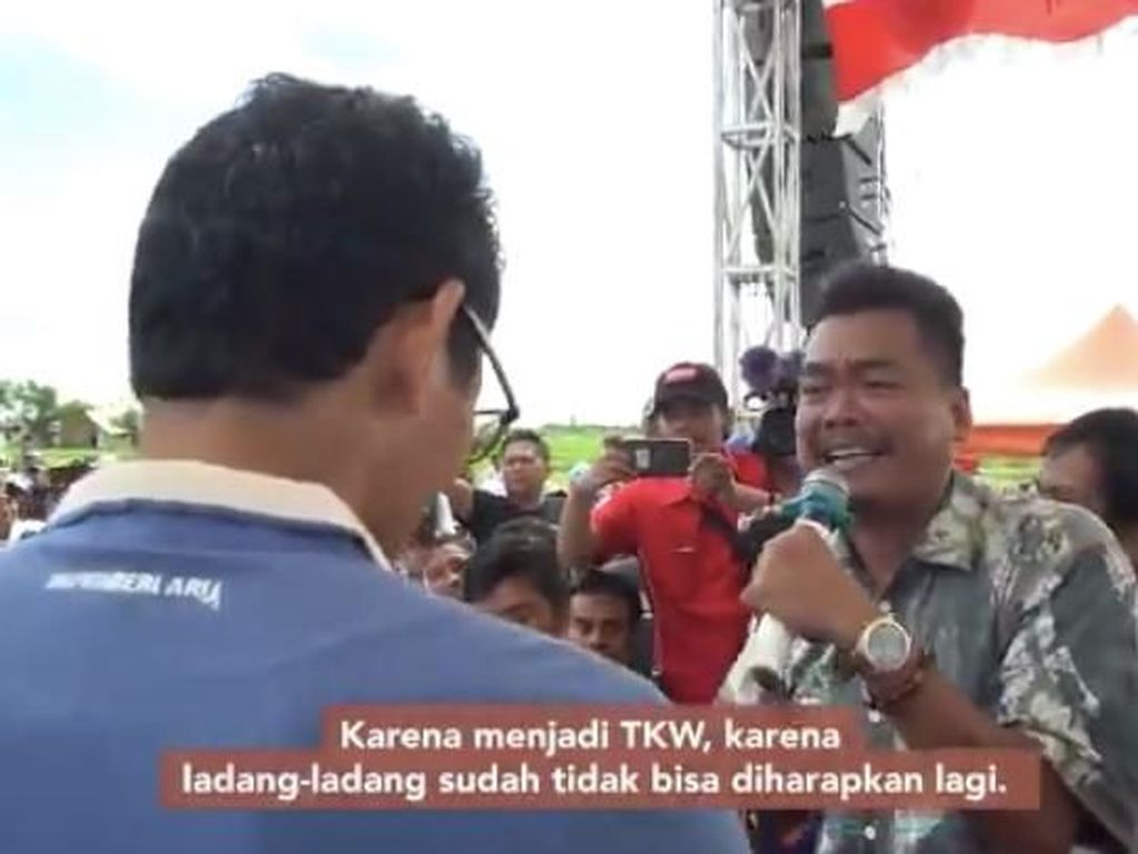 Petani Bawang yang Curhat ke Sandi Disebut Komisioner KPU, Ini Penjelasannya