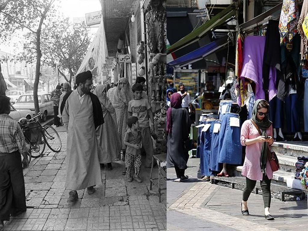 Beda Iran Sebelum dan Sesudah Revolusi Tahun 1979