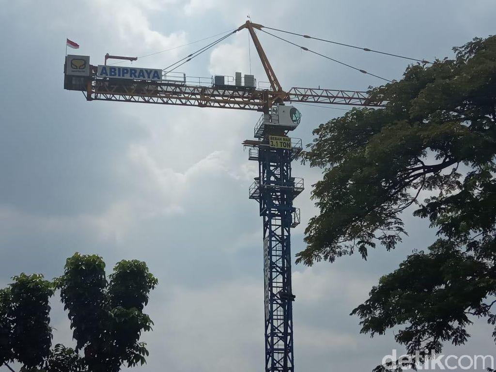 Rusun Nempel Stasiun di Tanjung Barat Belum Punya IMB