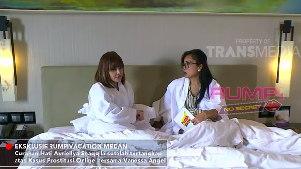 Avriella & Feni Rose di acara Rumpi Trans TV