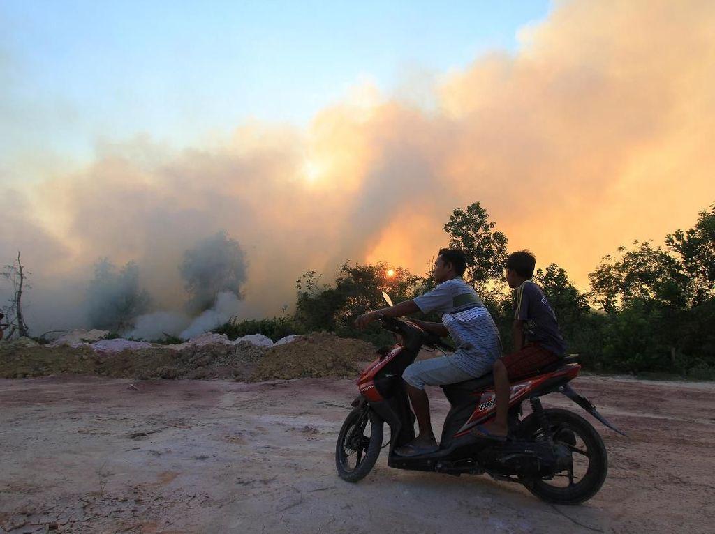 Asap Kepung Langit Riau, Dinkes Bagikan Tips untuk Anak dan Ibu Hamil