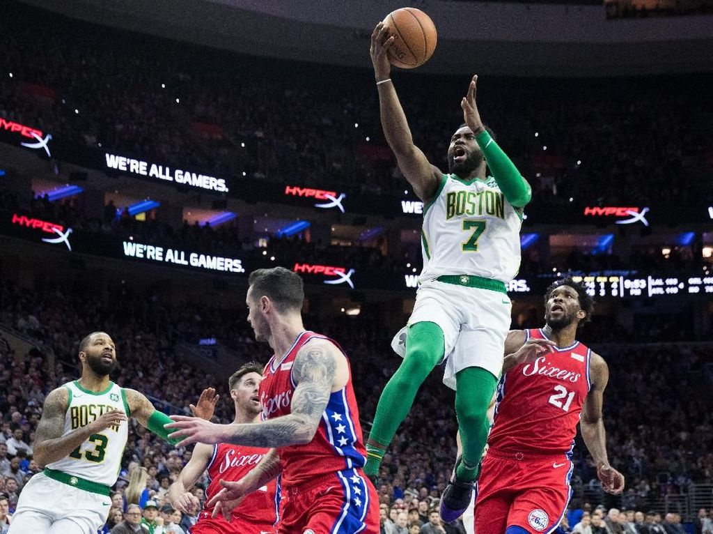 Hasil NBA: Boston Celtics Kalahkan Sixers
