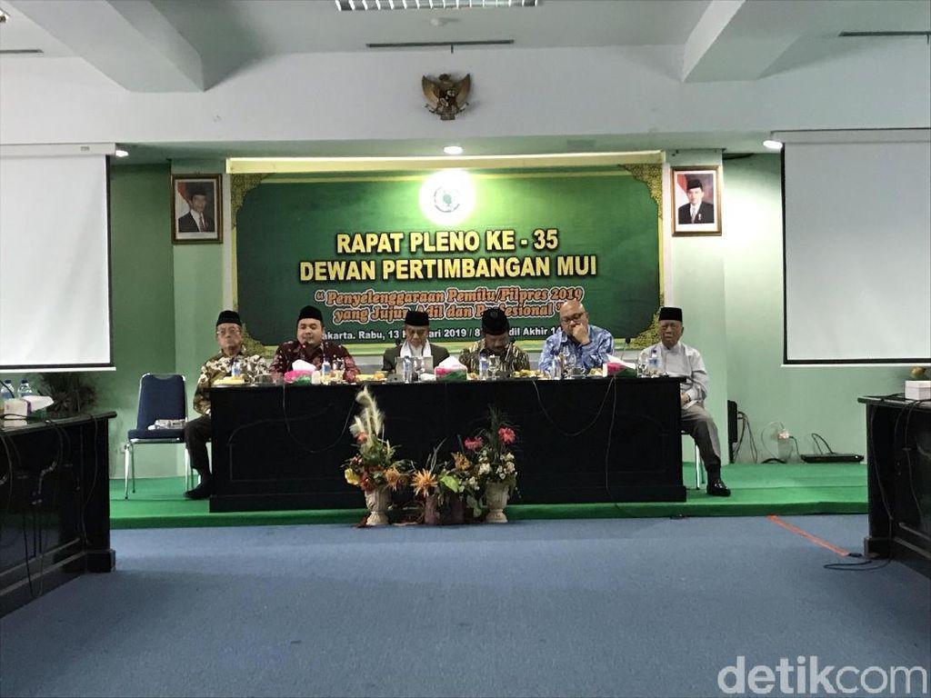 Di Pleno MUI, Bawaslu Jelaskan Kasus Pelanggaran Pemilu Ketum PA 212