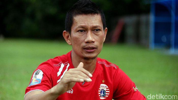 Ismed Sofyan jelaskan alasannya setia dengan Persija Jakarta. (Foto: Rengga Sancaya)