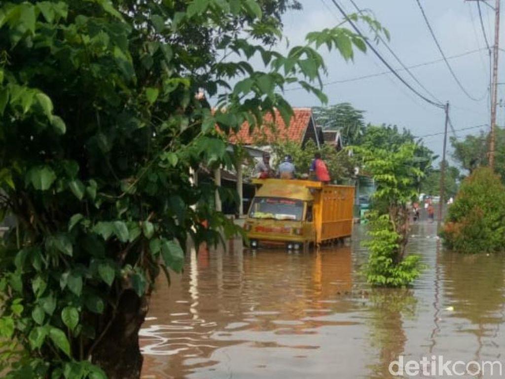 Desa-desa di Pasuruan Wilayah Timur Kembali Terendam Banjir