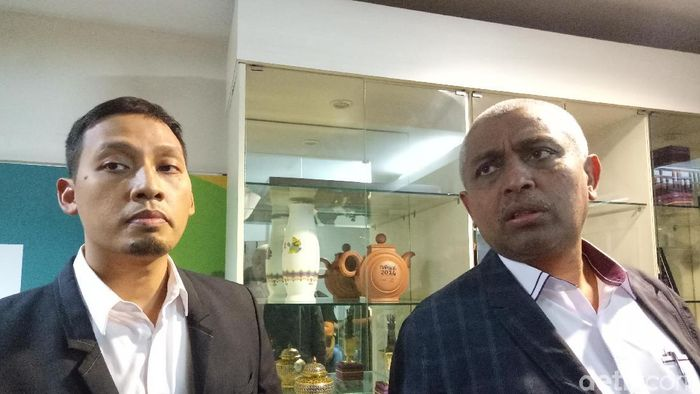Ahmad Riyadh (kanan) menjadi salah satu anggota exco PSSI (detikSport)