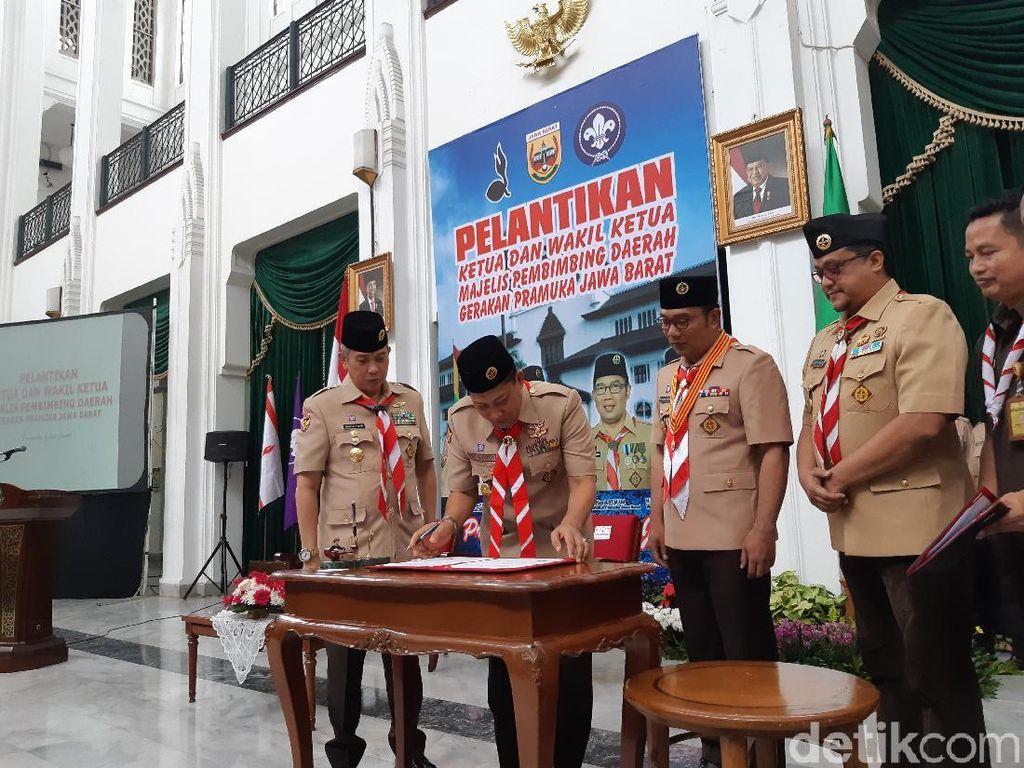 Ridwan Kamil Jadikan Pramuka Ujung Tombak Tangkal Radikalisme