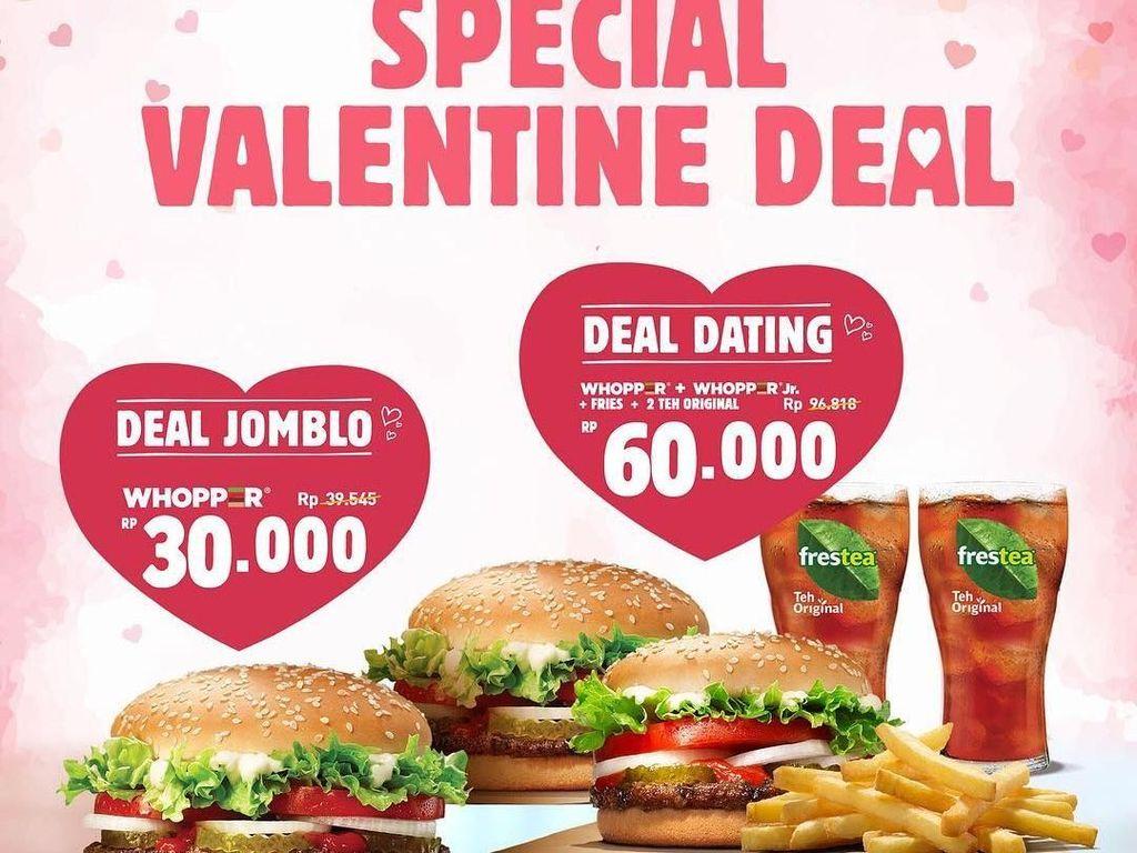 Semarakkan Hari Valentine, Ada Promo Menarik di 5 Restoran Ini