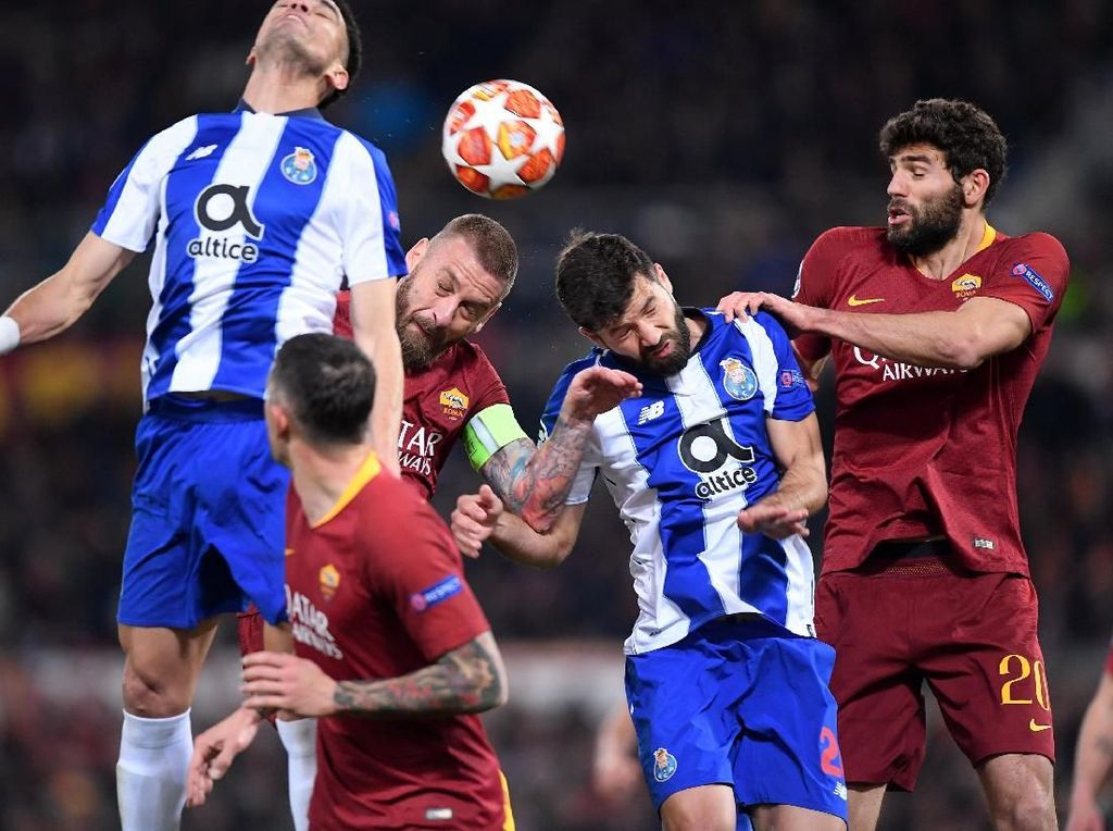 Porto vs AS Roma: Dua Tim yang Terluka