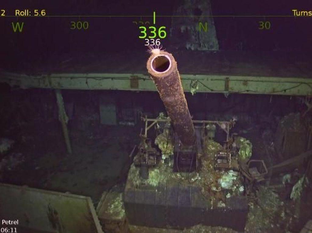 Foto: Kapal Induk AS Era PD II yang Ditemukan 76 Tahun Kemudian