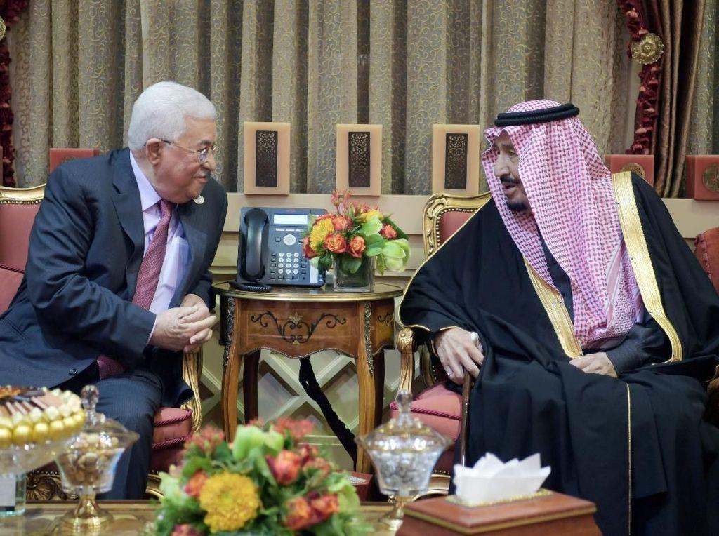 Raja Arab Saudi Tegaskan Dukungan untuk Negara Palestina Merdeka