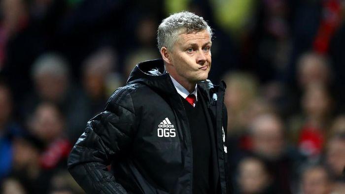 Manajer Manchester United, Ole Gunnar Solskjaer. (Foto: Michael Steele/Getty Images)