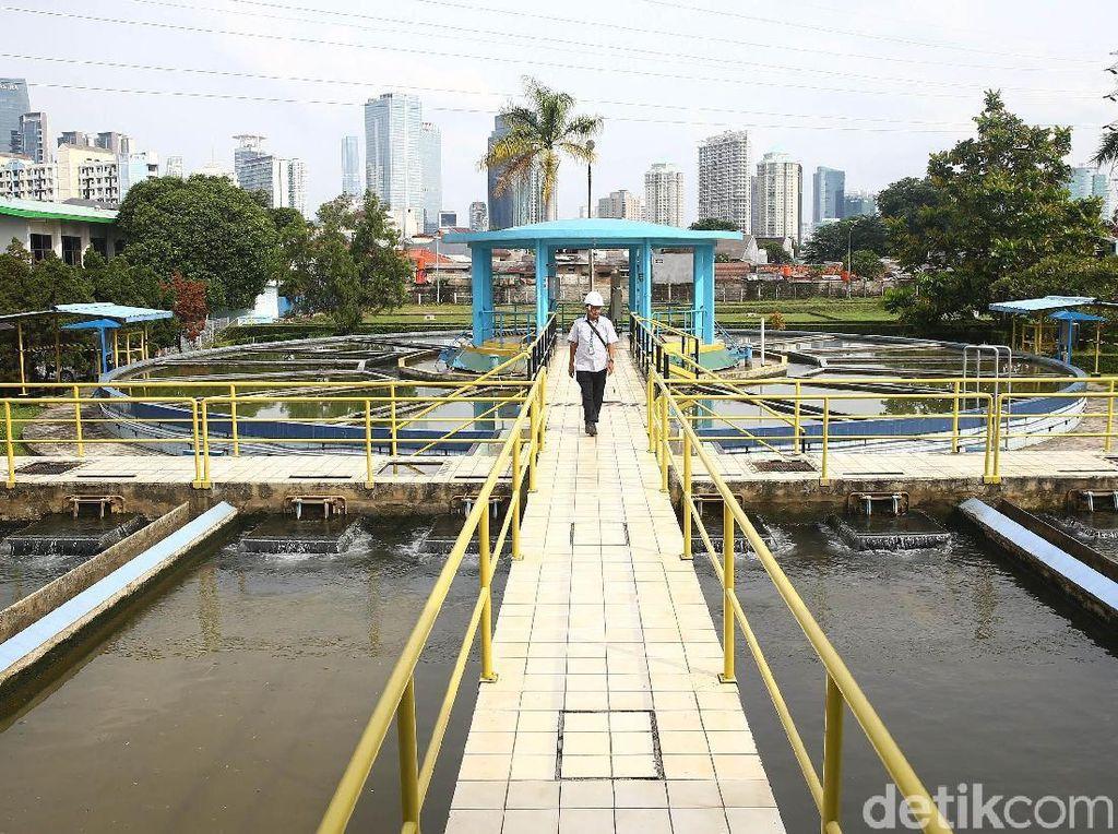 Heboh Pengelolaan Air Bersih di Jakarta, Instalasi Air Palyja Tetap Bekerja