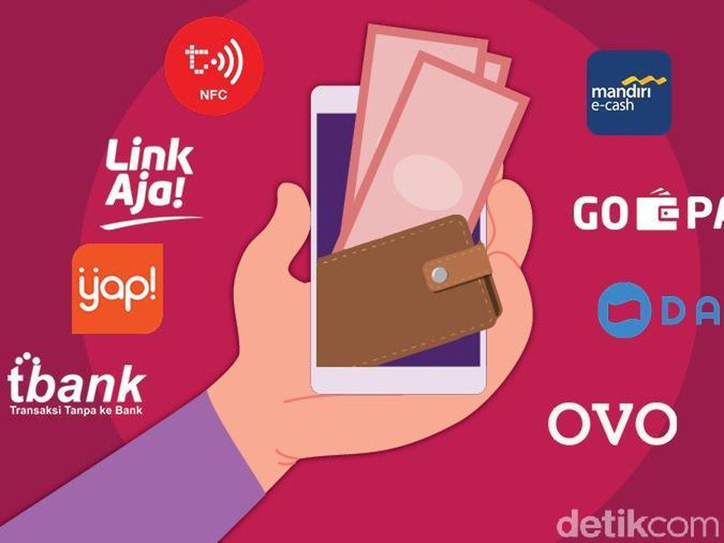 GoPay dan OVO Kian Melesat, BI: Perbankan Kalah