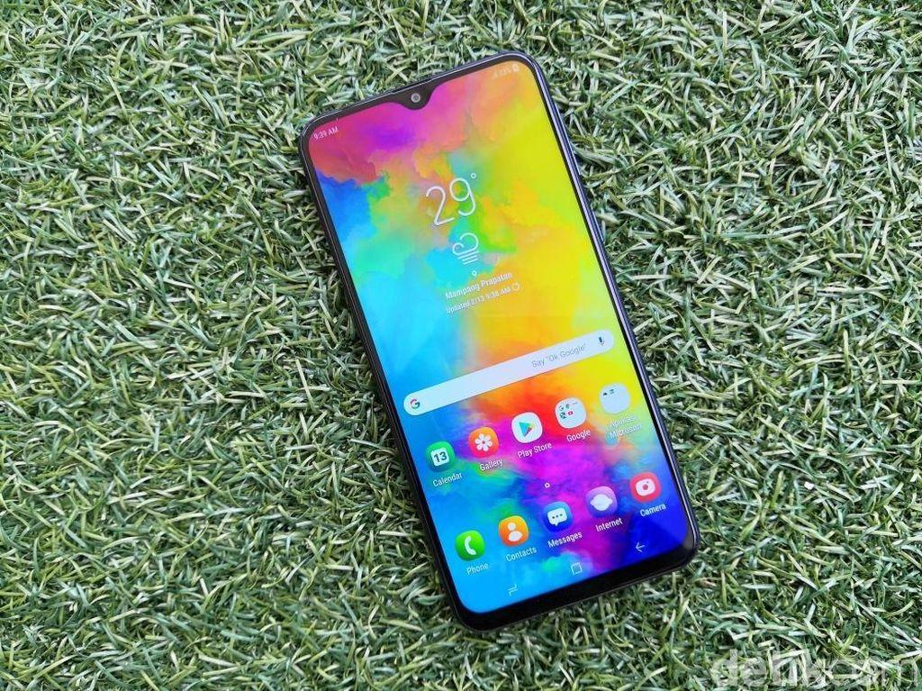 Samsung Punya Suksesor Galaxy M20 dengan Baterai Lebih Jumbo?