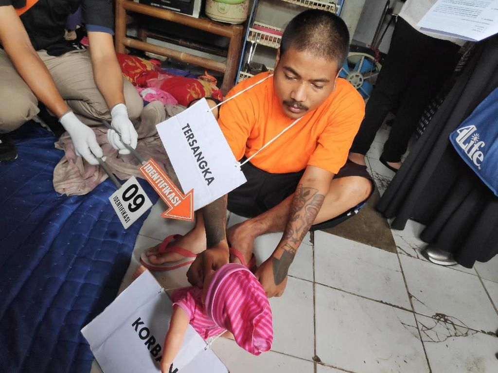 Anak yang Dibanting Ayah Tiri Juga Dicabuli Setelah Meninggal