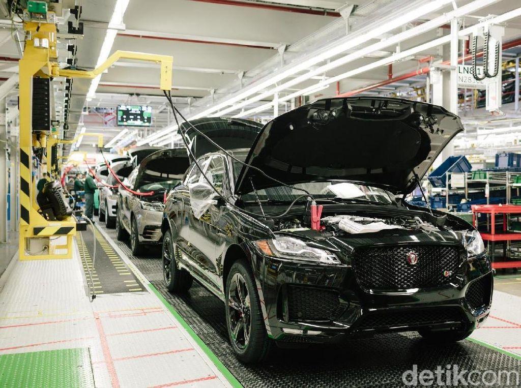 Giliran Jaguar yang Hentikan Produksinya karena Virus Corona