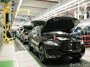 Terobosan Jaguar Land Rover Kurangi Karbon dalam Proses Produksi Mobilnya