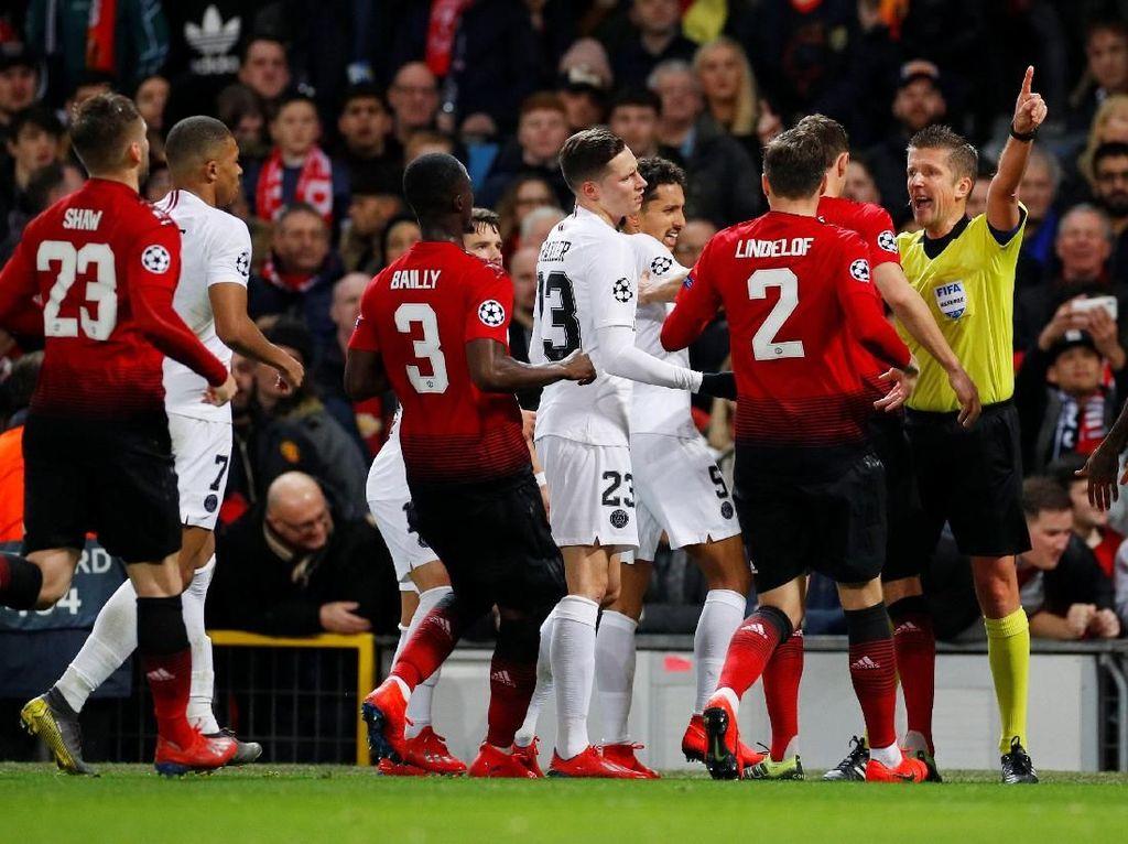 UEFA Panen Dakwaan dari Laga MU vs PSG