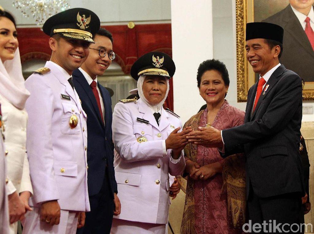 Pesan Jokowi untuk Khofifah-Emil: Langsung Tancap Gas untuk Jatim