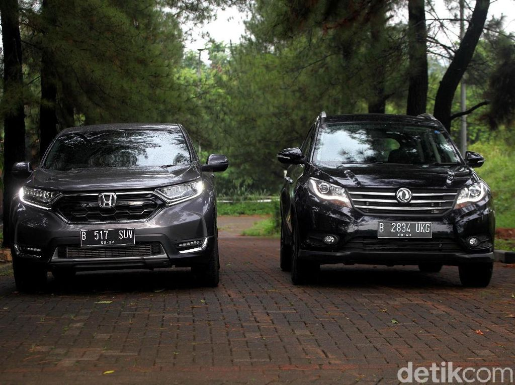 Duel Honda CR-V 1.500cc Turbo Vs DFSK Glory 580