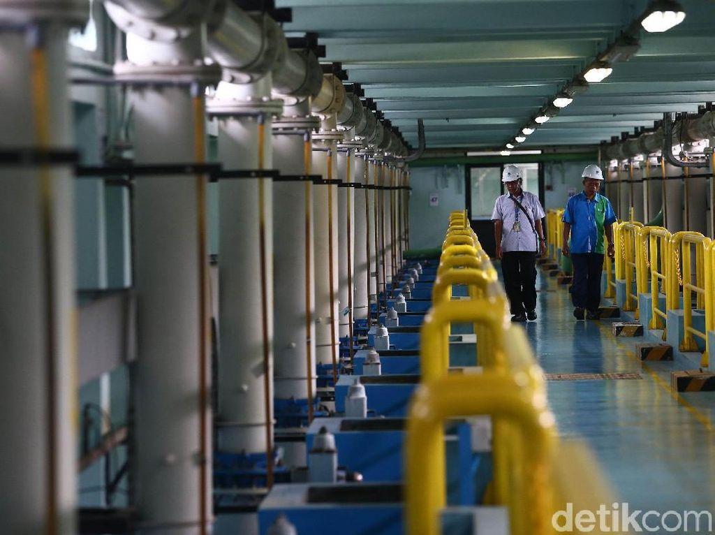 Aetra dan PAM Jaya Sepakati HoA Pengelolaan Air Jakarta