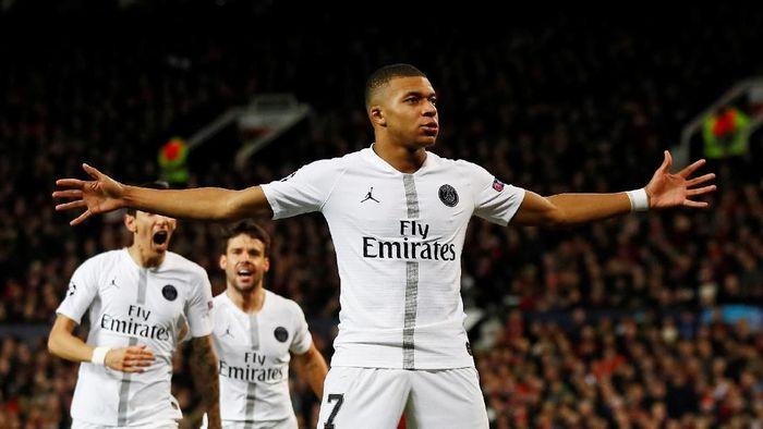 Kylian Mbappe bisa jadi pemain terbaik dunia di PSG (Jason Cairnduff/Reuters)
