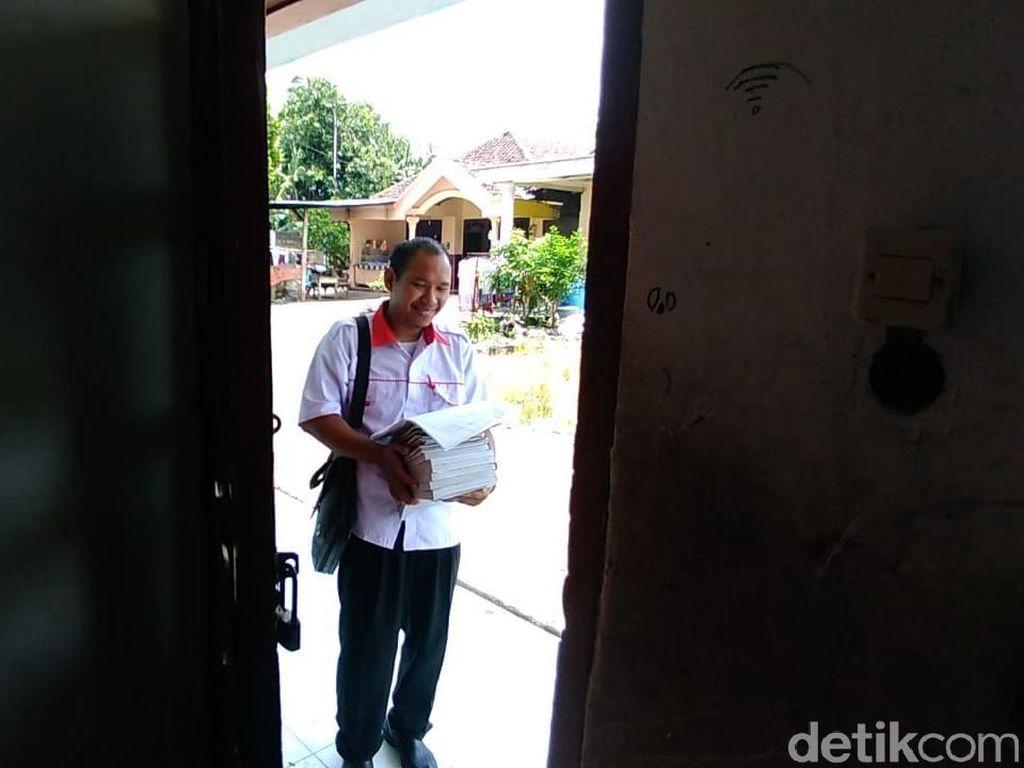 Guru yang Ditantang Siswa Direncanakan Umrah Bareng Aa Gym