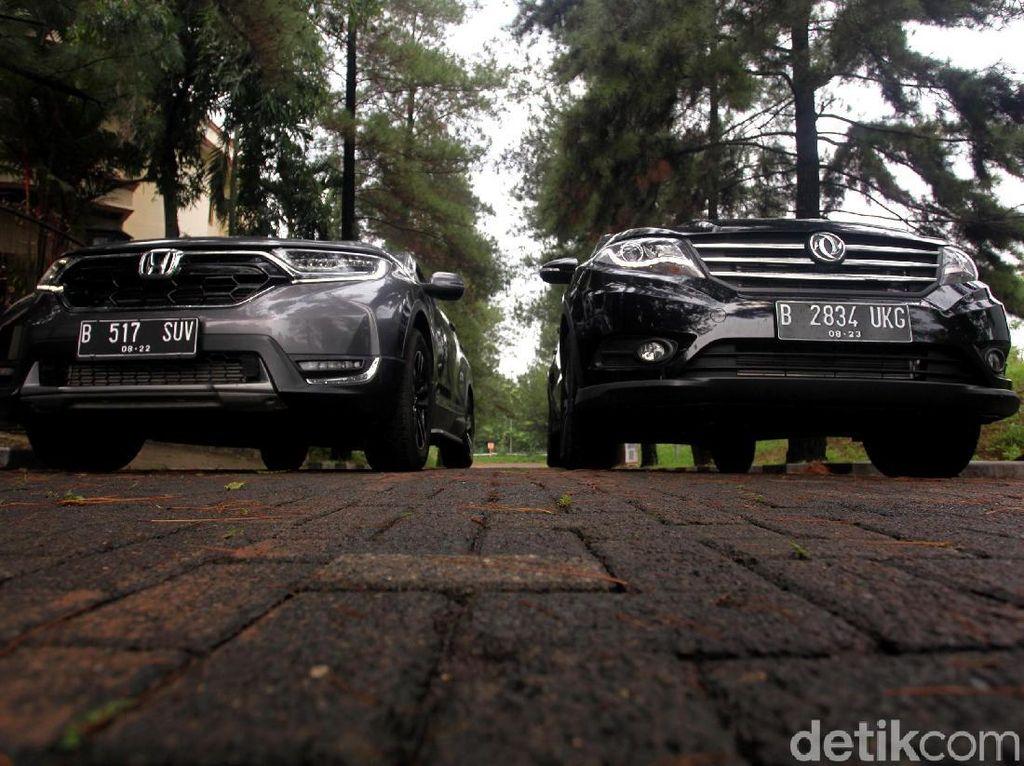 Kejar-kejaran Honda CR-V, Wuling Almaz, dan DFSK Glory 580