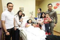 Ani Yudhoyono dan keluarga