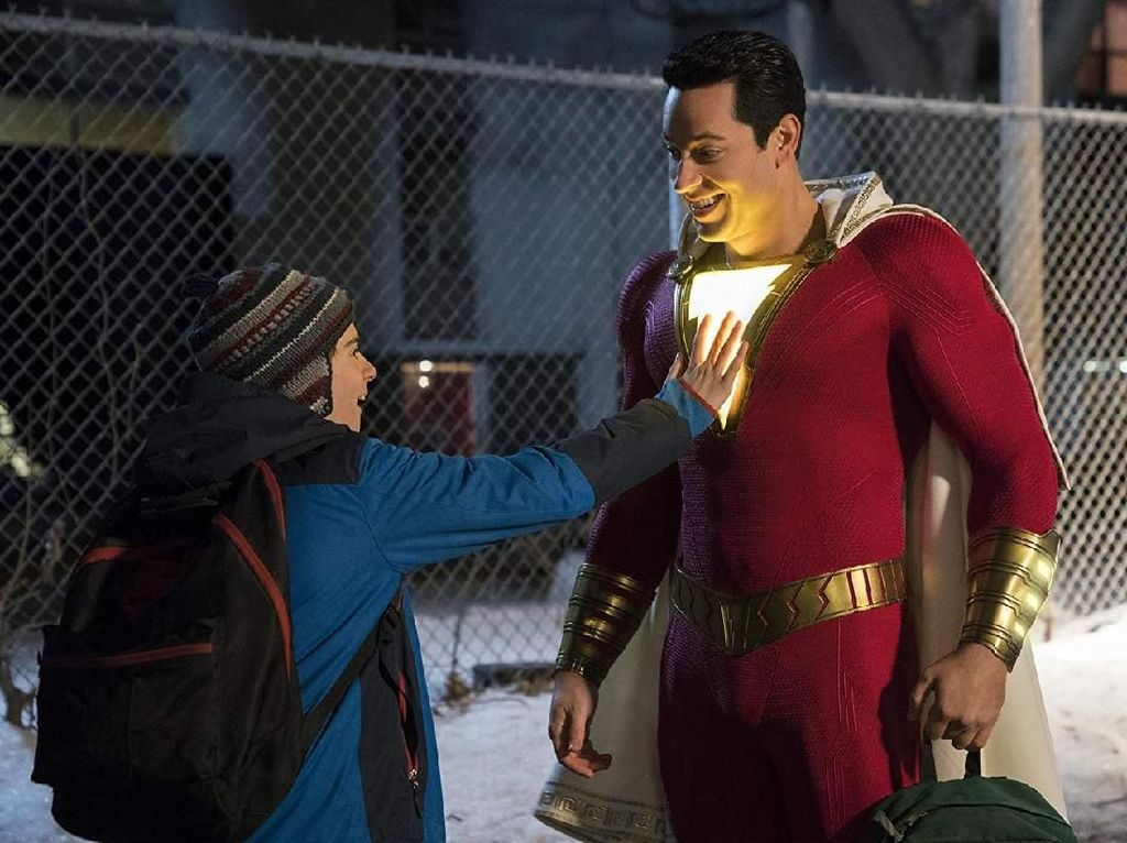 Debut di Pekan Pertama, Shazam! Bersinar di Box Office