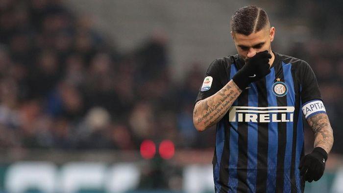 Striker Inter Milan Mauro Icardi. (Foto: Emilio Andreoli/Getty Images)