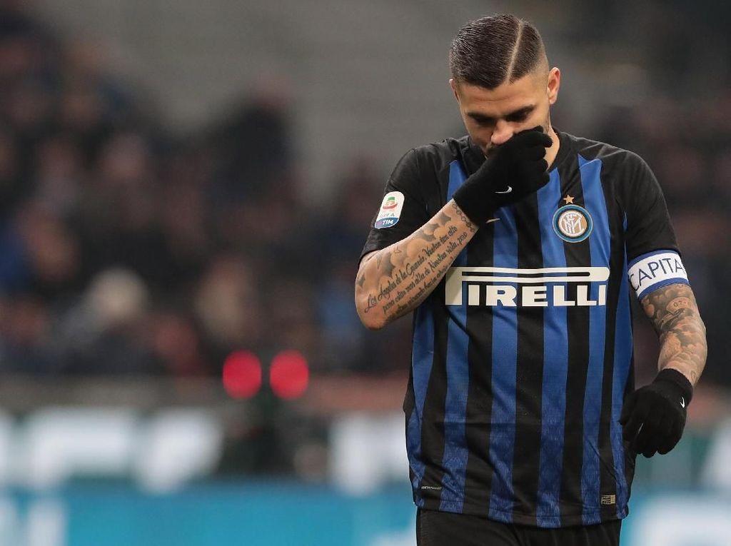 Wanda Nara Tegaskan Icardi Ingin Bertahan di Inter Milan