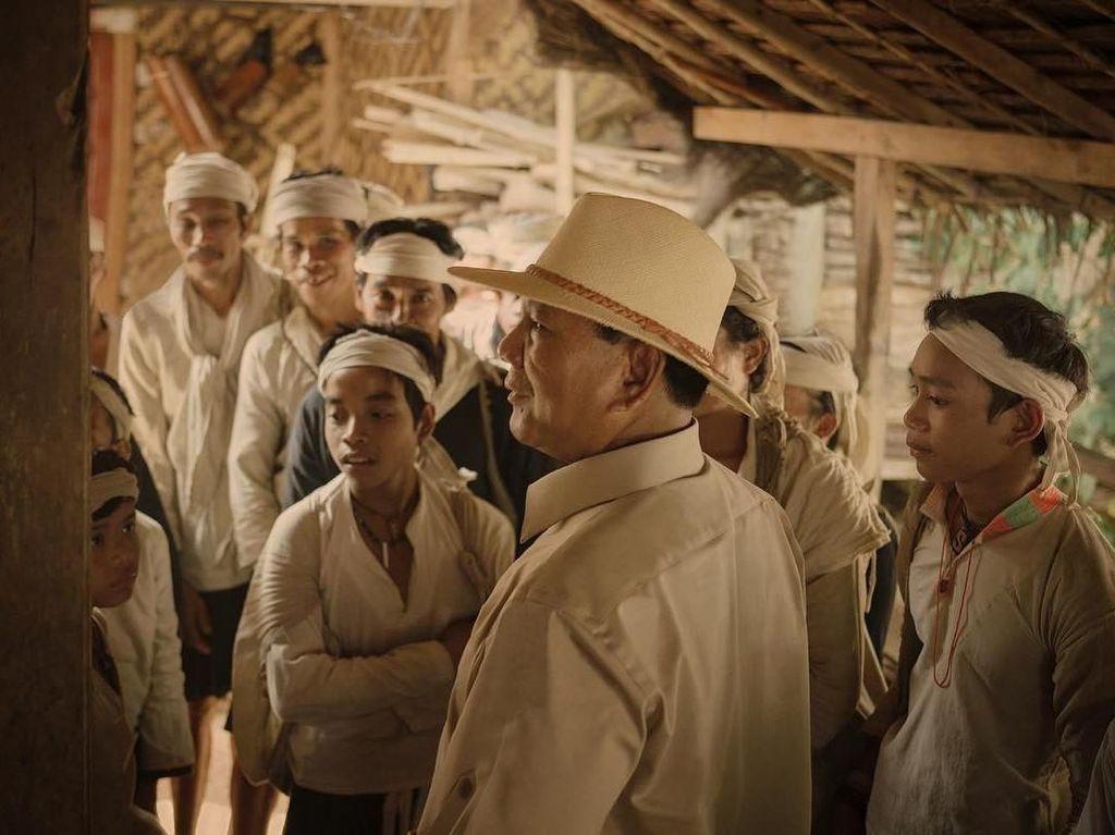 Foto: Prabowo dan Suku Baduy Dalam